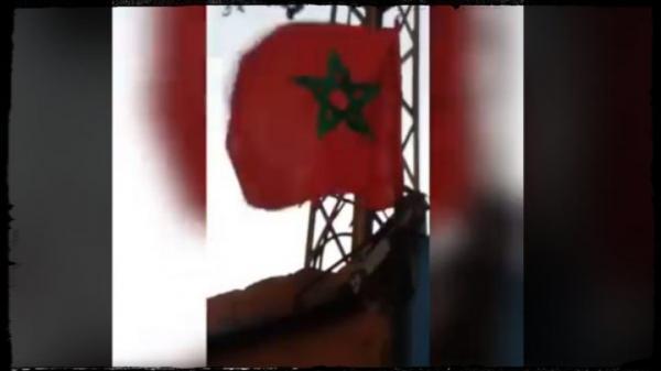 صدمة داخل قيادة البوليساريو بعد رفع رمز المملكة المغربية داخل مخيمات تندوف