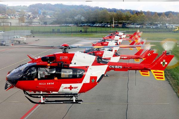 بالصور: الدرك الملكي يقتني خمس مروحيات سويسرية للبحث والإنقاذ