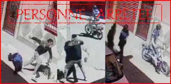 """هكذا اعتقل الأمن """"شفار"""" ظهر في فيديو رفقة شريكه يسرقان حقيبة سيدة"""