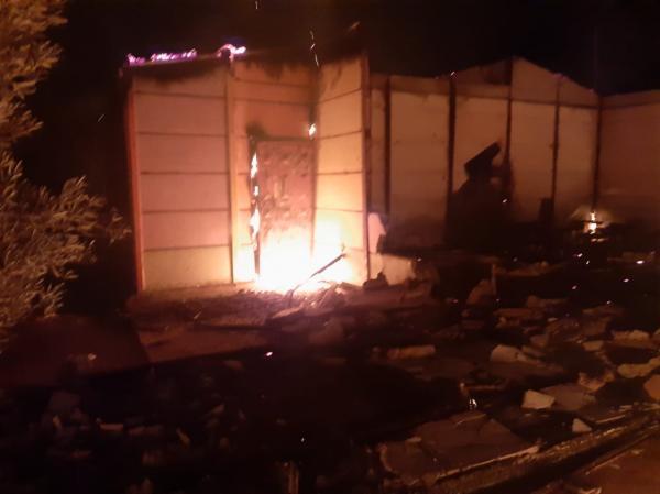 اندلاع حريق مهول في مؤسسة للتعليم الابتدائي بالكارة والخسائر فادحة(صور)