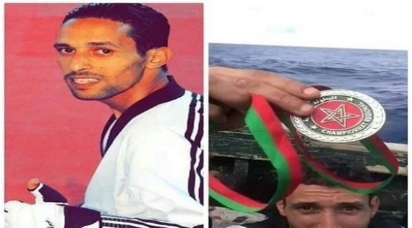 مدرب بطل التايكواندو المغربي الذي ألقي ميداليته في البحر يخرج بتدوينة مؤثرة عن الواقعة (فيديو)