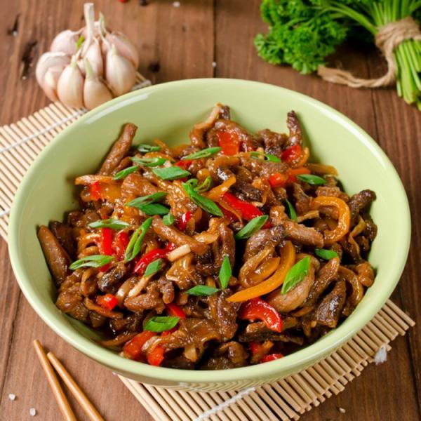 فيليه اللحم يالفلفل على الطريقة الصينية