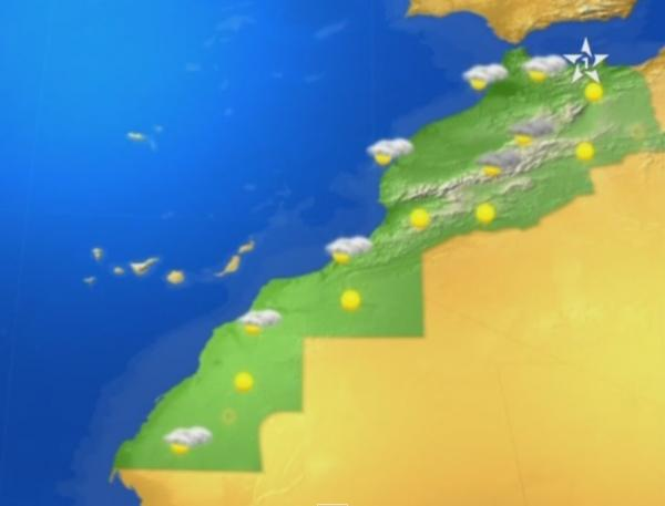 درجات الحرارة الدنيا والعليا المرتقبة غدا السبت 5 دجنبر