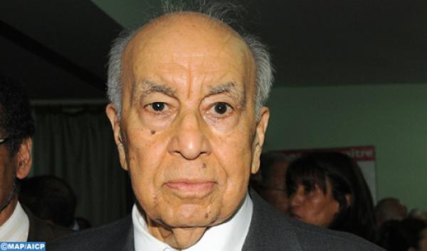 جنازة مهيبة لكريم العمراني الوزير الأول السابق بمقبرة الشهداء  بحضور الأمير مولاي رشيد(فيديو)