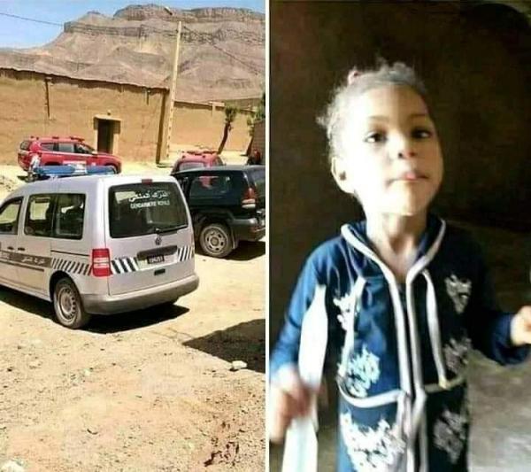 """بعد مأساة الطفل """"عدنان""""...العثور على جثة الطفلة """"نعيمة"""" التي اختفت منذ أزيد من شهر بزاكورة"""