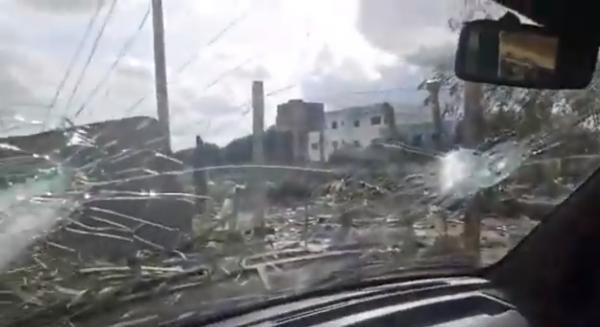 عصابة إجرامية تخرب عددا من السيارات بمنطقة شيكا بتمارة