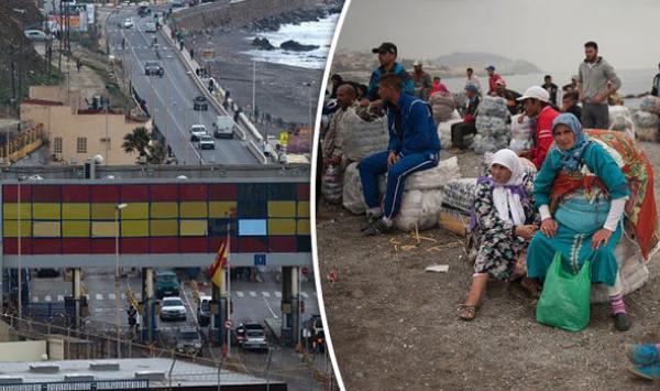 إغلاق المغرب لمعبر سبتة يكبد اقتصاد المدينة المحتلة خسائر تفوق 100 مليون يورو في عام واحد