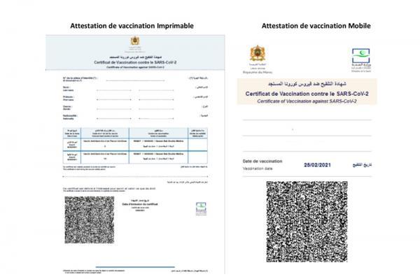 """الإغاثة المدنية توزع 10 آلاف """"جواز تلقيح"""" مجانا على المستفيدين من الجرعات الكاملة"""