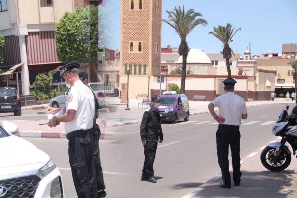 بالفيديو: مراقبة أمنية مشددة بشوارع سطات استعدادا لتخفيف قيود حالة الطوارئ