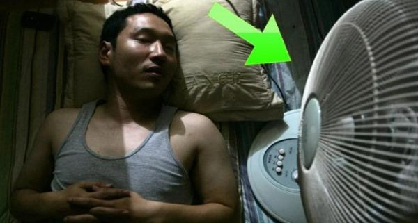 تحذير: هذه مضاعفات النوم أمام المروحة صيفا