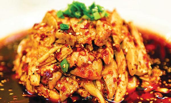 طبق السمك على الطريقة الصينية