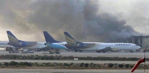 فاجعة جوية جديدة.. تحطم طائرة ركاب فوق حي مكتظ بالسكان في باكستان
