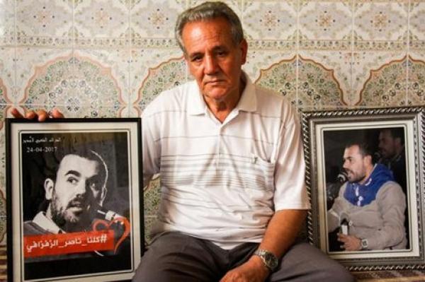 """والد الزفزافي: ابني سيتنازل عن 50 مليونا قيمة جائزة """"سخاروف"""" للجمعيات الخيرية في حال فوزه بها"""