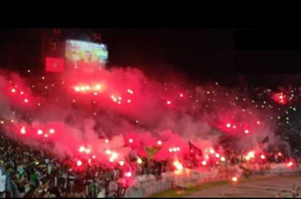 أغنية رجاوي فلسطيني وكراكاج عالمي في مباراة هلال القدس الفلسطيني