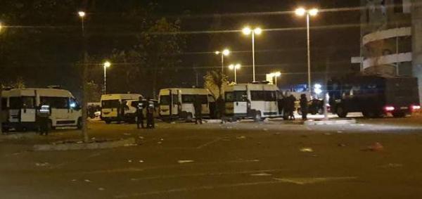 اعتقالات بالجملة بعد أعمال الشغب التي أعقبت مباراة اتحاد طنجة أمام الرجاء