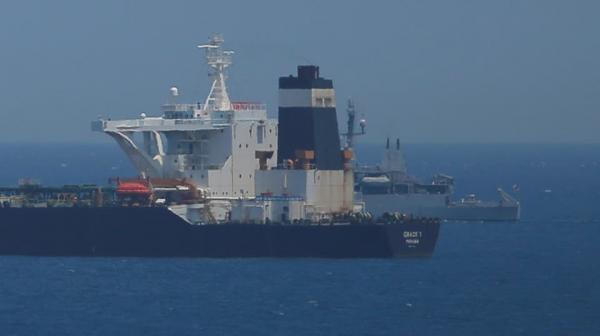 """سلطات """"جبل طارق""""  تعتقل قبطان ناقلة النفط الإيرانية المحتجزة"""