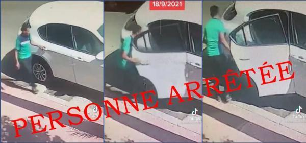 أمن تمارة يتفاعل بجدية مع فيديو سرقة سيارة بالشارع العام