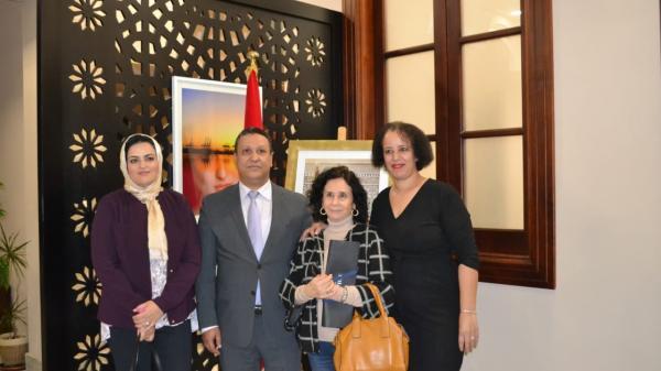 القنصلية العامة للمملكة المغربية بالجزيرة الخضراء تحتفل بمناسبة الذكرى الرابعة و الأربعين للمسيرة الخضراء