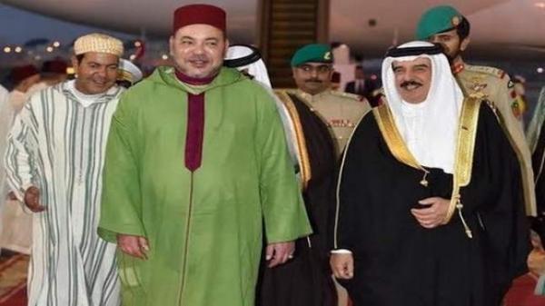 """لقاء """"ودي"""" بين الملك محمد السادس والعاهل البحريني"""
