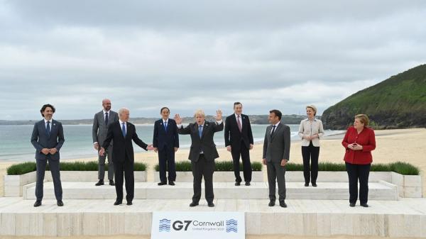 """مجموعة """"G7"""": سنوفر مليار جرعة لقاح ضد كورونا في 2022"""