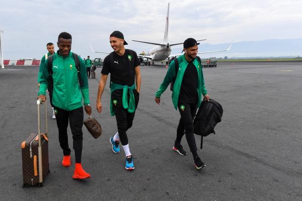 بعثة المنتخب المغربي تصل إلى بوجومبورا