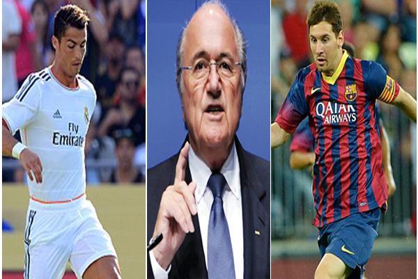 تصريحات بلاتر ضد رونالدو تُثير غضَب ريال مدريد