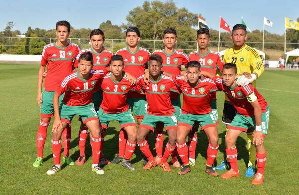 المنتخب المغربي يتعادل مع نظيره السنغالي في أمم إفريقيا للفتيان