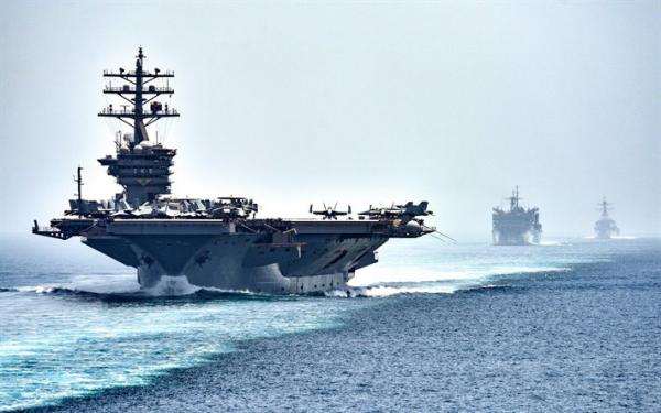 حاملة طائرات عملاقة تشارك في تمرين بحري بين المغرب والولايات المتحدة