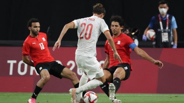 أولمبياد طوكيو: المنتخب المصري يفرض التعادل على نظيره الإسباني المدجج بنجوم اليورو
