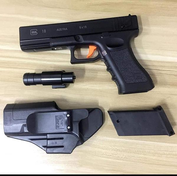 أمن مرتيل يوقف شخصين وبحوزتهما مسدس ضغط