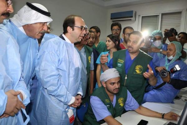متطوعون سعوديون يجرون عمليات جراحية لأطفال مغاربة يعانون من أمراض القلب (صور)