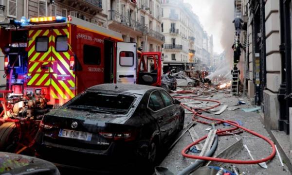 انفجار في مخبزة بباريس .. مواطنان مغربيان ضمن الجرحى