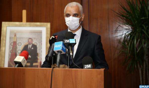 الوزير آيت الطالب يبشر مهنيي الصحة بمكافآة استثنائية على جهودهم في مكافحة الجائحة