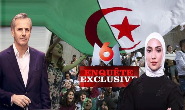 """الجزائر تقرر مقاضاة قناة """"M6"""" الفرنسية بسبب برنامج فضح نظام """"تبون"""""""