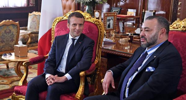 بعد تسرب أنباء عن أزمة ديبلوماسية صامتة بين البلدين...الرئيس الفرنسي يحل بالمغرب في زيارة رسمية