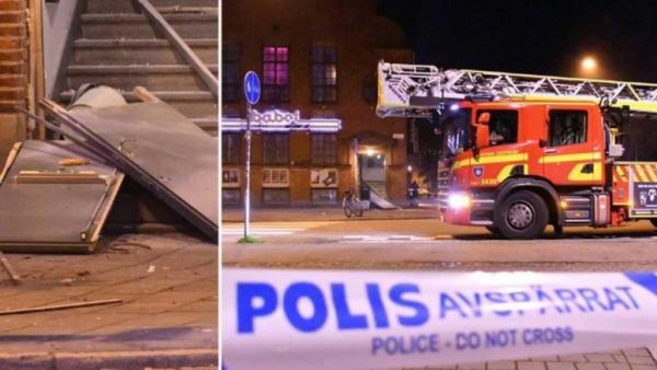 انفجار قوي يهز مبنى في وسط ستوكهولم