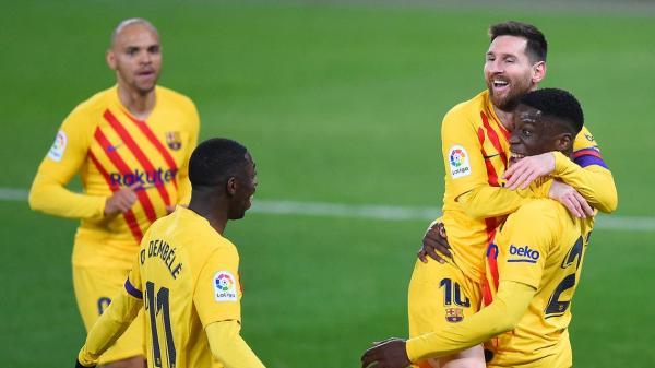 برشلونة يواصل انتصاراته ويقلص الفارق عن الأتلتيكو