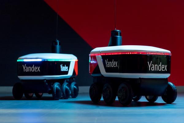شركة روسية تنتج روبوتات لتوصيل البضائع إلى المنازل