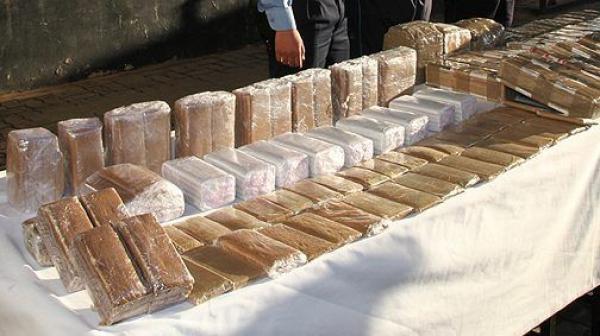 الناظور: إحباط محاولة تهريب 290 كلغ من مخدر الشيرا