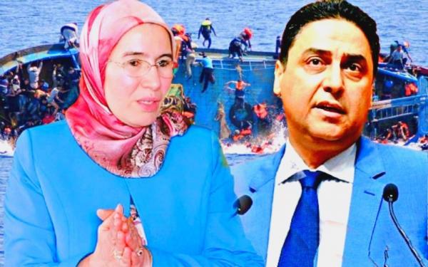 """وفاة شبان مغاربة غرقا بالساحل الجزائري و""""حجيرة"""" يطالب """"الوافي"""" بالتدخل العاجل لنقل جثامينهم إلى المغرب"""