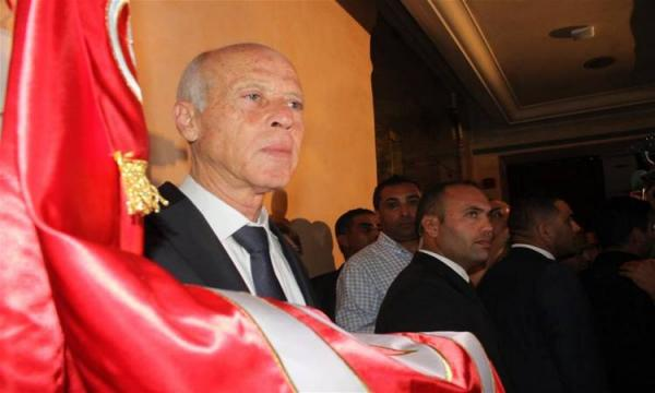 تنصيب الرئيس التونسي الجديد قيس سعيد بحضور وفد مغربي مثل الملك محمد السادس
