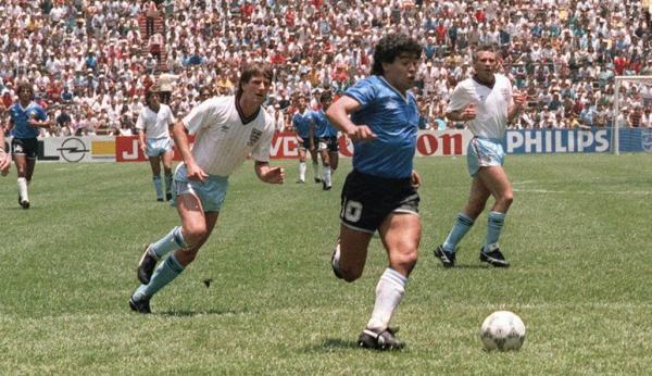 """قميص مارادونا في مباراة الفوز على انجلترا خلال مونديال 1986 """"ليس للبيع"""""""