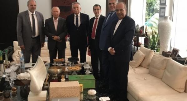 العثماني في ضيافة رفاق بنعبد الله بسبب شرفات أفيلال