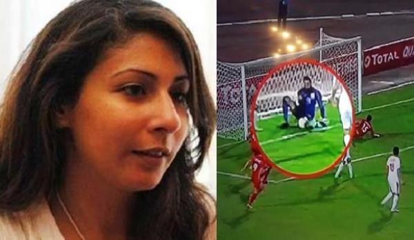 مُخرجة المباراة ترد على اتهامها بتعمد عدم إعادة لقطة الهدف المرفوض لحسنية أكادير ضد الزمالك (فيديو)
