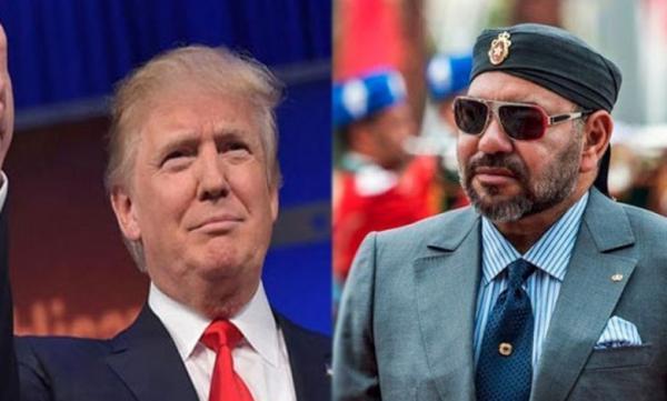 """رسميا...""""ترامب"""" يوشح الملك """"محمد السادس"""" بوسام """"الاستحقاق الأمريكي المرموق"""" قبيل مغادرته للبيت الأبيض"""