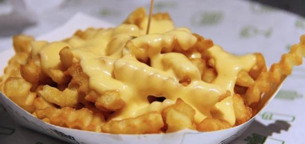 وصفة البطاطس المحمرة بالجبن