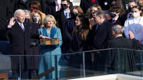 رسميا: جو بايدن يصبح الرئيس السادس والأربعين للولايات المتحدة