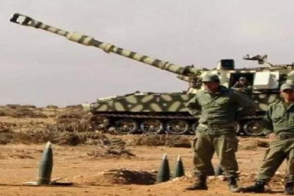 مدفعية القوات المسلحة الملكية تدك مواقع عصابة البوليساريو
