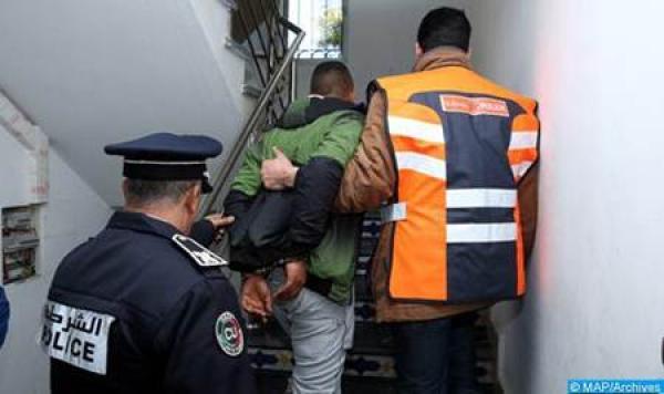 """الأمن يعتقل اخطر مروج و4 من مرافقيه بهذه المنطقة ويحجز 10 كيلوغرامات من """"الحشيش"""""""