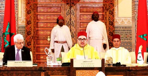 """المغرب يقدم للجزائر درسا جديدا في الوفاء لـ""""القضية الفلسطينية"""" ويفضح زيف مواقفها الشفوية"""